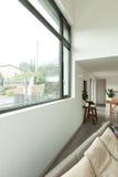 Mieszkanie, szczegół żywy pokój Obrazy Royalty Free