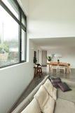 Mieszkanie, szczegół żywy pokój Obraz Royalty Free