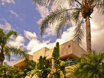 mieszkanie tropikalnych wakacji Zdjęcia Stock