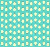 Mieszkanie twórczości pomysłu deseniowa lampa Zdjęcia Stock