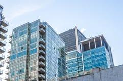 Mieszkanie własnościowe budynki Obraz Stock