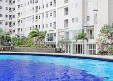 Mieszkanie własnościowe pływacki basen Obraz Royalty Free