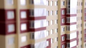 Mieszkanie własnościowe papieru model zdjęcie wideo