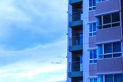Mieszkanie własnościowe widok obrazy stock