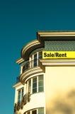 Mieszkanie w domu dla sprzedaży lub czynszu fotografia stock
