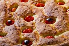 Mieszkanie włoski chleb Zdjęcia Stock
