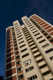 mieszkanie wzrost wysoki lokalowy jawny Singapore Obrazy Royalty Free