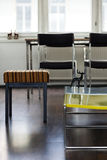Mieszkanie Żywy Izbowy szczegół Fotografia Stock