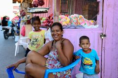 Mieszkaniec republiki dominikańskie Fotografia Royalty Free
