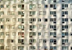 Mieszkaniowa architektura w dużym mieście Zdjęcia Stock