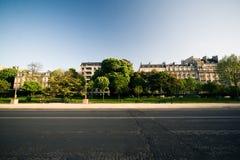 mieszkaniowa ulica Zdjęcia Stock