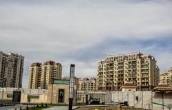 Mieszkaniowi budynki mieszkaniowi Hualing tbilisi Gruzja obrazy royalty free