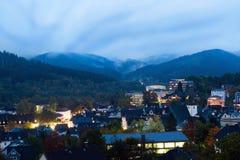 mieszkaniowi społeczności pogórza zdjęcie royalty free