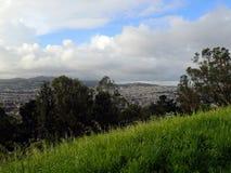 Mieszkaniowi wzgórza San Fransisco Kalifornia Zdjęcia Royalty Free