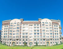 Mieszkaniowy budynek mieszkaniowy Zdjęcie Royalty Free