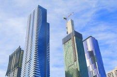 Mieszkaniowy budynek mieszkaniowy Melbourne Australia Zdjęcia Royalty Free