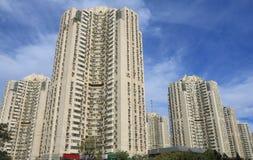 Mieszkaniowy budynek mieszkaniowy Pekin Chiny Obraz Royalty Free