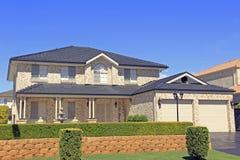 Mieszkaniowy dom Fotografia Royalty Free
