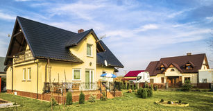 Mieszkaniowy dom Fotografia Stock