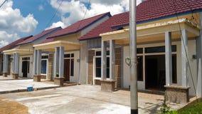 Mieszkaniowy dom nieruchomość Obrazy Stock