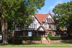 Mieszkaniowy dom w Minnestoa Obraz Royalty Free