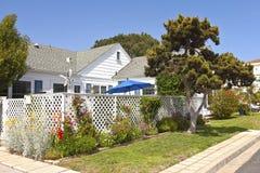 Mieszkaniowy dom w point loma Kalifornia. Fotografia Stock