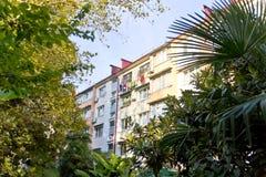 Mieszkaniowy dom z osuszką odziewa na arkanie Zdjęcia Royalty Free