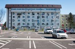 Mieszkaniowy parking Zdjęcie Royalty Free