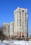 Mieszkaniowy powikłany Mega ÑаÑÑÑ w Almaty Obraz Royalty Free