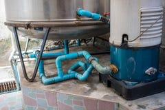 Mieszkaniowy system wodny dla intymnego use Obraz Royalty Free