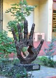 Mieszkanowie Odessa - jest wdzięczny Steve Jobs obraz royalty free