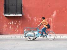 Mieszkanowie Valladolid, Meksyk Obraz Royalty Free