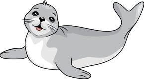 Śmieszna dziecko foka ilustracja wektor