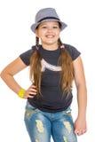 Śmieszna dziewczyna nastoletnia Fotografia Stock