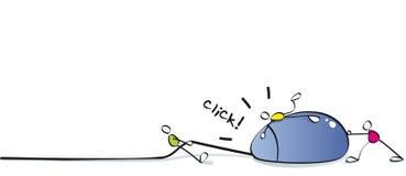 śmieszna mysz ilustracja wektor