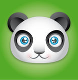 śmieszna panda Zdjęcie Royalty Free