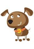 Śmieszna psia ilustracja Fotografia Stock