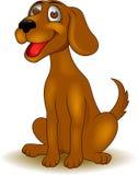 Śmieszna psia kreskówka Obrazy Royalty Free