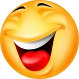 Śmieszna smiley kreskówka Zdjęcie Royalty Free