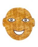 Śmieszna wycinanki maska Obrazy Royalty Free