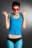 śmieszne okulary Zdjęcia Stock