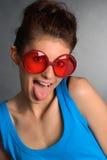 śmieszne okulary Obraz Stock