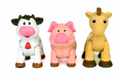 śmieszne zabawki Fotografia Royalty Free