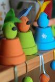 śmieszni Easter króliki Fotografia Stock