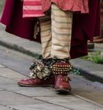 Śmieszni medioeval buty Zdjęcie Stock