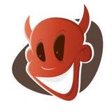 Śmieszny kreskówka diabeł Fotografia Stock