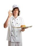 Śmieszny kucharz Zdjęcie Royalty Free