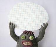 Śmieszny plastelina potwór 3 Zdjęcie Stock