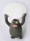 Śmieszny plastelina potwór 1 Zdjęcie Stock