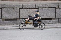 Śmieszny rower Fotografia Stock